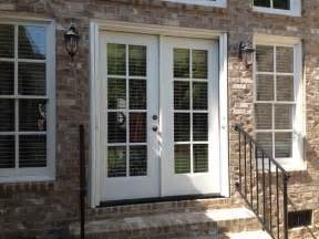 Installing A Bow Window double french doors