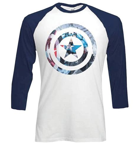 Raglan Superheroes 18 Ordinal Apparel marvel comics s raglan captain america shield block for only 163 15 73 at