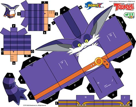 Sonic The Hedgehog Paper Crafts - sonic the hedgehog paper crafts