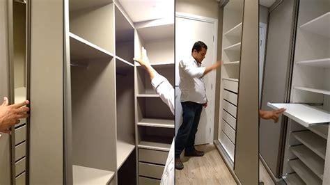 armarios quarto embutidos quarto de casal planejado closet arm 225 rio embutido e