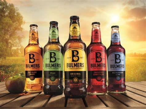 bulmers relaunched   bottle