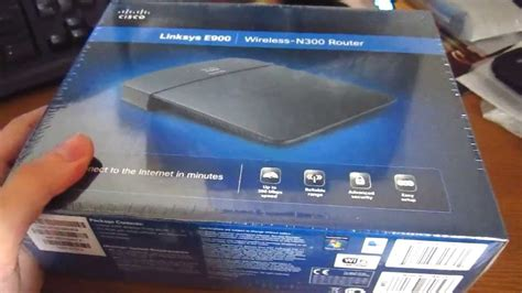 Jual Router Cisco E900 cisco linksys e900 wireless n300 router unboxing hd 720p