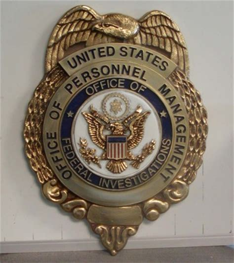 Opm Investigator by Office Of Personnel Management Federal Investigation Service Wall Seal Www Dondero