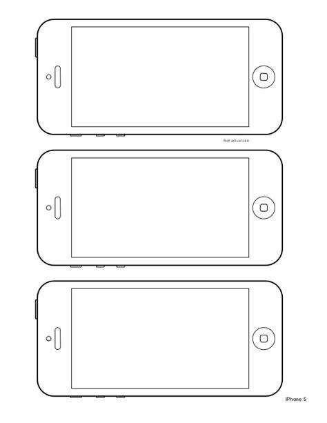 iphone 5 design templates