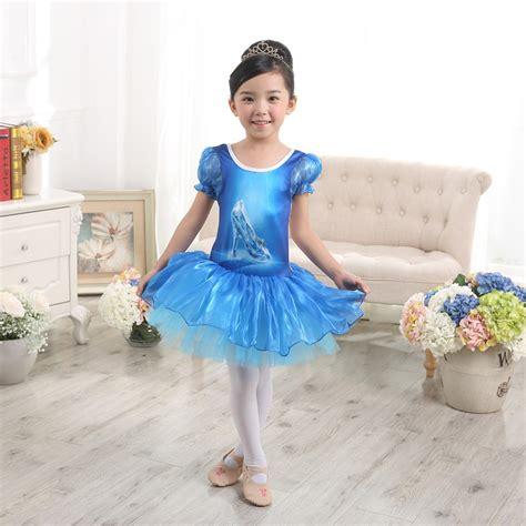 Vallenia Dress Big Size Blue blue sleeve gymnastics shoes ballet leotard tutu dress princess