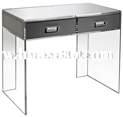 Clear Vanity Table Clear Acrylic Waterfall Vanity Table Clear Plexiglass Vanity Table Clear Lucite Vanity Table