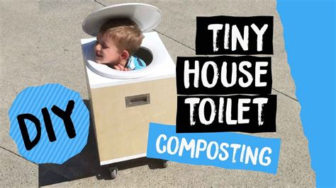 Diy Composting Toilet Youtube by Diy Tiny House Toilet On Wheels Composting Bucket Toilet