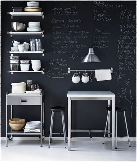 chalkboard kitchen wall ideas chalkboard paint ideas for a blast of blackboard d 233 cor