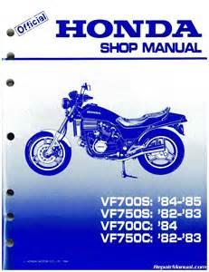 1982 1985 honda vf700c magna vf750s v45 sabre