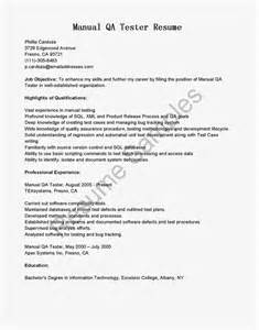sle resume for software tester fresher 11 software testing resume sles riez sle resumes