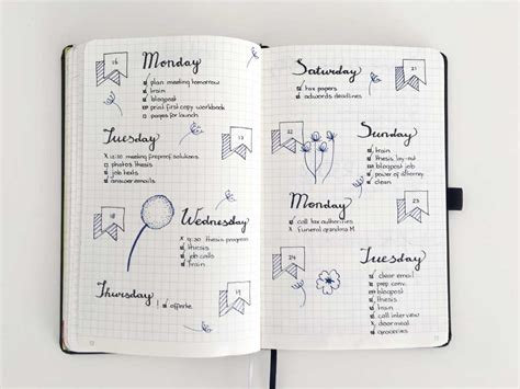 bullet journal 15 daily lay outs for the bullet journal without