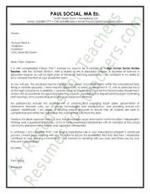 Social Studies Cover Letter by 1000 Images About And Principal Cover Letter