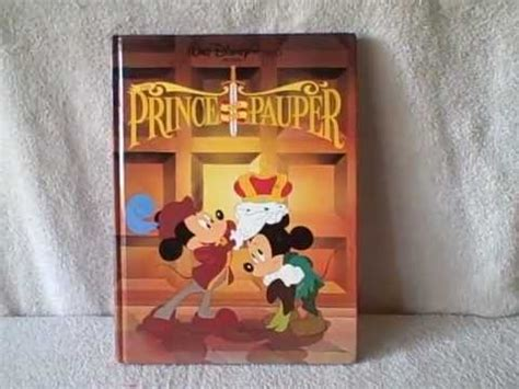prince and the pauper book report disney prince and the pauper children book hardback upc