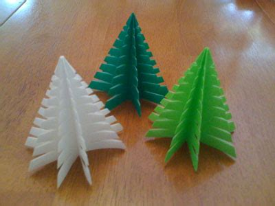 christmas tree kirigami christmas tree and star pattern