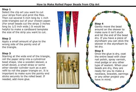 How To Make Paper Bead - paper tutorial c capers