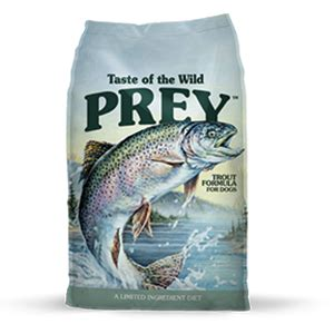 prey trout limited ingredient formula for dogs | powell