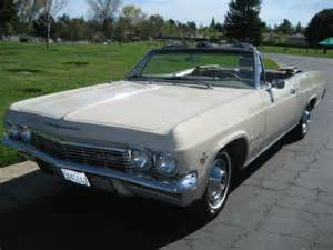 sell used 1965 chevrolet impala convertible in sacramento