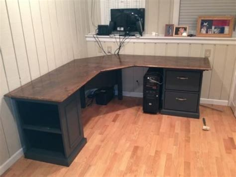 Diy L Shaped Computer Desk Build L Shaped Desk Woodworking Projects Plans