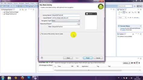 java tutorial text editor java tutorial membuat edit text xml pada android youtube
