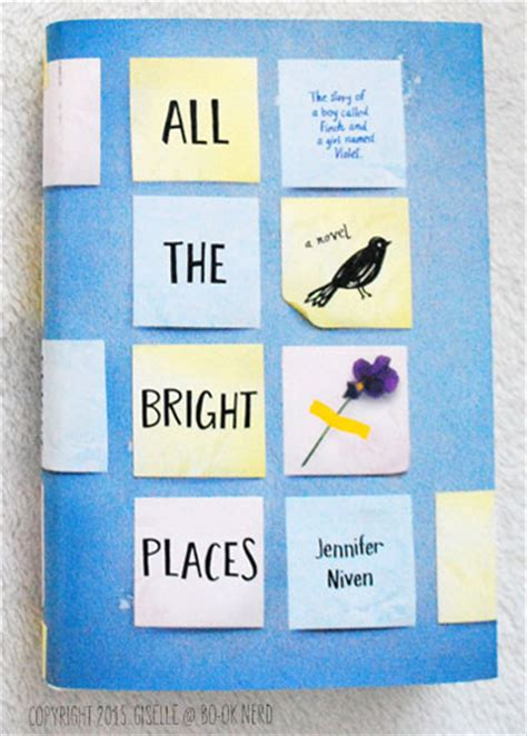 all the bright places 0141357037 review all the bright places by jennifer niven