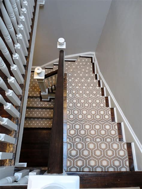 Stairway To Darkness Rug by The Peak Of Tr 232 S Chic Stair Runners That Make A Statement