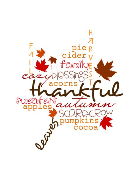 Printable Art For Thanksgiving | thanksgiving quotes clip art quotesgram
