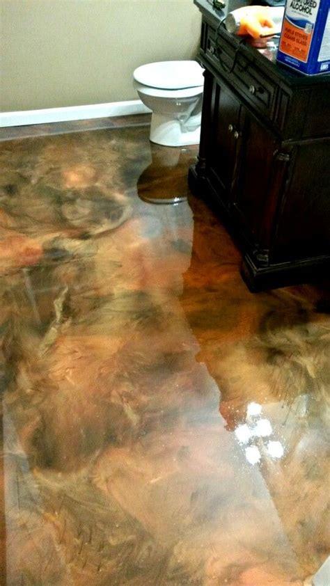 metallic epoxy concrete floors concrete floors