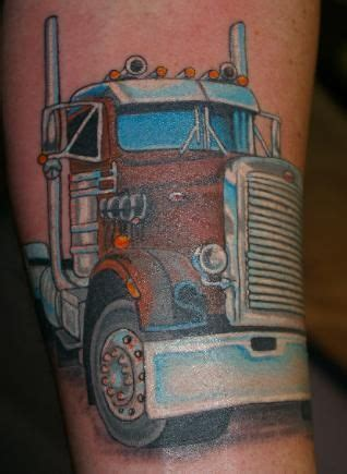 big rig tattoo designs semi truck tattoos http www inkycellstattooco