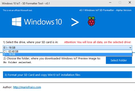 Release Drive Letter Windows 10 Windows 10 Iot Sd Formatter Tool V0 1 Alpha For