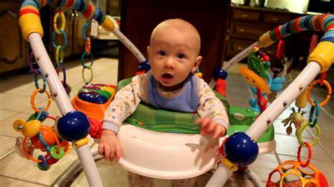 Baby Max Jumper Huxton In His Baby Einstein Jumper
