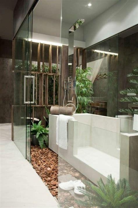Bathroom Showers Ideas Pictures Comment Cr 233 Er Une Salle De Bain Zen