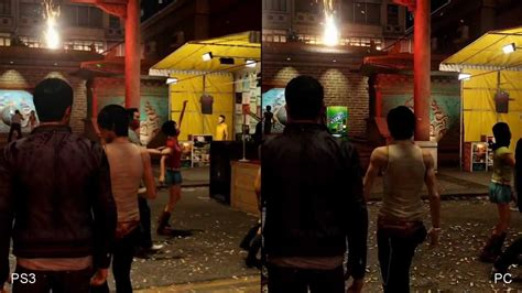 dogs ps3 sleeping dogs xbox 360 ps3 pc comparison hd