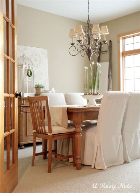dining room slipcover chairs slipcovered dining chairs homesfeed