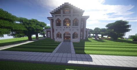 mine house georgian estate 2 minecraft house design