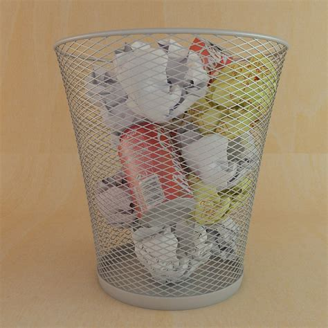 waste paper basket waste paper basket 3d model