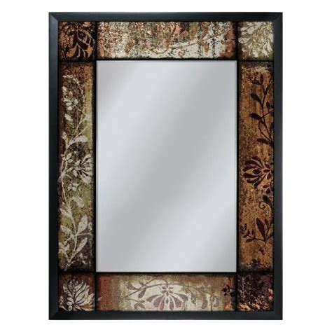 deco mirror genoa 27 in x 33 in mirror in bronze cherry jmacdonald1 on amazon com marketplace sellerratings com