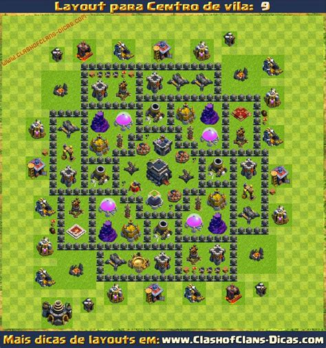 layout cv 8 atualizado 2015 layouts de centro de vila 9 para clash of clans clash of