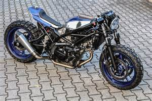 Custom Suzuki Motorcycles Krautmotors Sv650 Custom Build Exposed