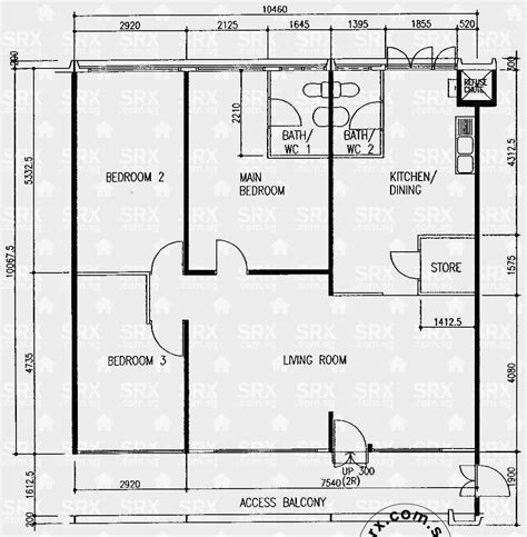 1 floor plan simei 1 hdb details srx property