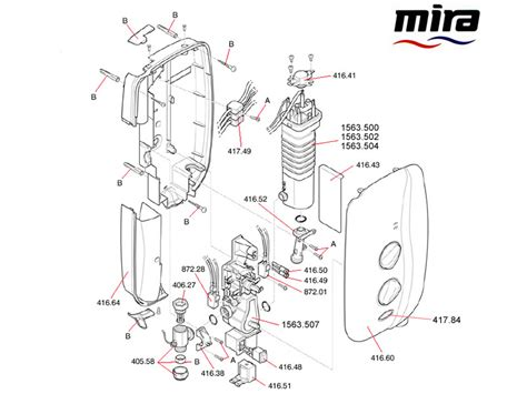 Mira Shower Spare Parts by Mira Sport 1998 2005 Shower Spares And Parts Mira