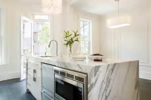 kitchen island marble dishwashers contemporary kitchen