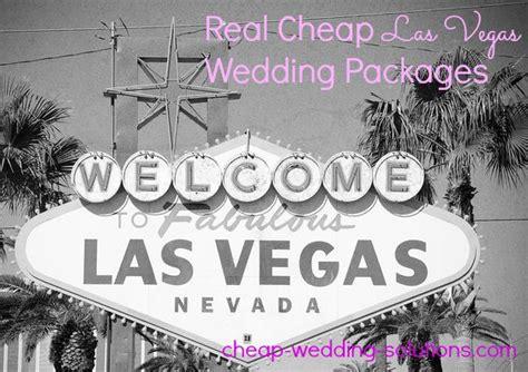 cheap las vegas wedding package review