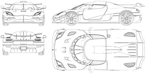koenigsegg car drawing koenigsegg agera blueprint koenigsegg pinterest
