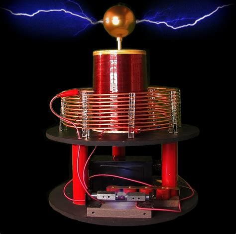 About Tesla Coil The Tesla Coil Designer