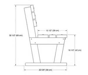 Bench dimensions design