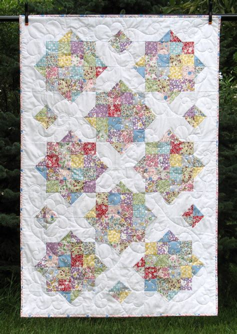 Quilt Throw by Cottage Chic Small Throw Quilt Quilt Crib Quilt By