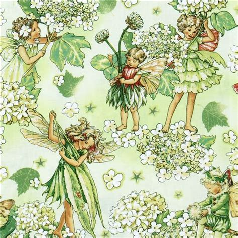 Flower Fairies Of The Garden Michael Miller Flower Fabric Morning Garden Flower Fabric Fabric Shop Modes4u