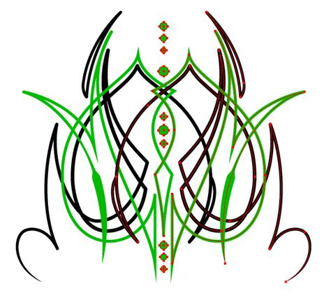 pinstripe pattern illustrator live mirror drawing in illustrator vectips