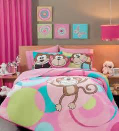 monkey comforter set new monkey pink aqua blue comforter bedding