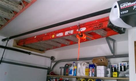 Ladder Storage In Garage by What S On Your Walls Neat Storage Ideas Page 27 The
